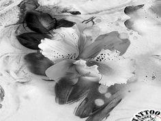 orchideen tattoo