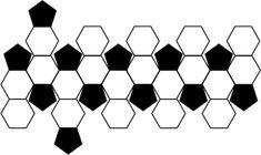 """Merhaba arkadaşlar. Hep kıyafet olmaz deyip """"Oyuncak Top"""" dikeyim dedim :) → TOPLAM 32 parçadan oluşuyor: 12 Siyah ; 20 Beyaz. → Si..."""