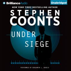 """Stephen Coonts' #Suspenseful #Thriller """"Under Siege"""" is now out in audiobook form. Sample the audio here: http://amblingbooks.com/books/view/under_siege"""