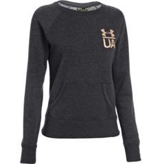 Under Armour Women s charged Legacy Crewneck long Sleeve Shirt 383f9d7094