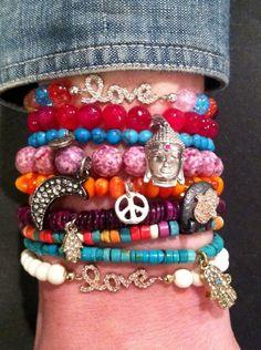 Mina Danielle bracelet stack!   www.ShopMinaDanielle.com