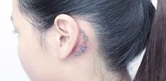 Share Tweet Pin Mail Small tattoos nestled secretly behind the ear make for an intriguing statement that's been exploding in popularity in recent years. Known as ...