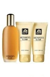 Aromatics Elixir Gift Set for Women By Clinique 3.4 Oz Eau De Parfum, 2.6 Oz Body Cream,2.5 Oz Body Wash - Eau de Parfum