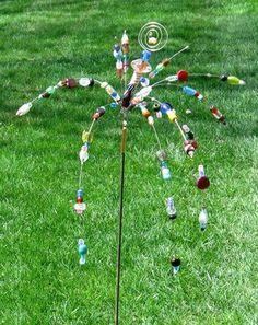 Garden Sparkler - Plant Stake by Diane Markin