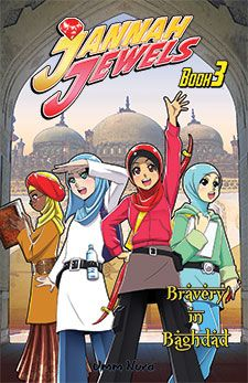 Jannah Jewels Book 3 Bravery In Baghdad Volume 3 -- Check this awesome product by going to the link at the image. Islamic Books For Kids, Islam For Kids, Cartoon Books, Comic Books, Anime Muslim, Islamic Art, Islamic Studies, Beautiful Anime Girl, Baghdad