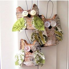 Christmas is just around the corner so it's time to dress up your tree. If you need some inspiration I have gathered some top easy, creative and rustic DIY Christmas… Rustic Christmas Ornaments, Christmas Hearts, Christmas Decorations For The Home, Ornaments Ideas, Christmas Christmas, Homemade Christmas, Diy Christmas Gifts, Holiday Crafts, Outdoor Christmas