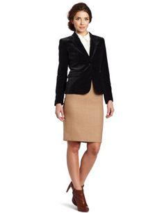 Vince Camuto Women`s One Button Velvet Blazer $113.40