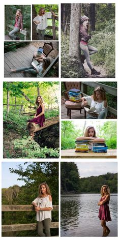 Outdoors senior pictures