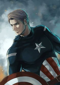 Erwin as Captain America