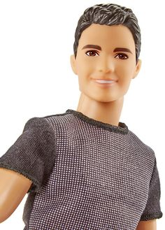 Check out the Ken Fashionistas Doll 6 Color Blocked Cool at the official Barbie website. Explore the world of Barbie today! Ken Doll, Barbie Doll Set, Barbie Party, Mattel Barbie, Barbie And Ken, Barbie Fashionista, Barbie Website, Barbie Basics, Pink Plastic