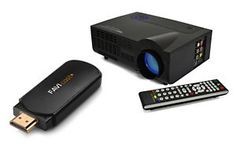 NEW! FAVI Portable LED Projector Bundle with Cast+ HDMI Stick for Streaming! Ends 12 N EST 7/20/15!