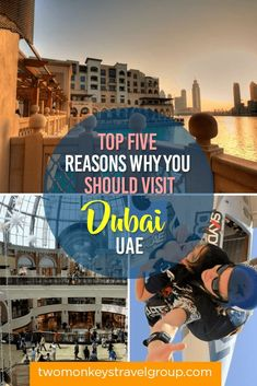 Dubai is one of the few cities in the Middle East that are very open to welcoming tourists. Here are top five reasons why you should visit Dubai. Visit Dubai, Dubai Uae, Abu Dhabi, Travel Photos, Travel Tips, Travel Plan, Top Five, Travel Forums, Wanderlust