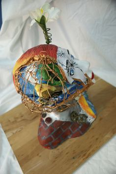 """""""Who I Am"""" a mixed media sculpture By: HollyAnne Black (that's me!  :D  )"""