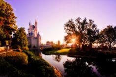 Sunrise Over Cinderella Castle