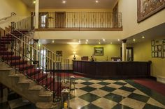 Dublin Airport, Country House Hotels, Georgian Homes, Restoration, Stairs, Club, Home Decor, Stairway, Staircases