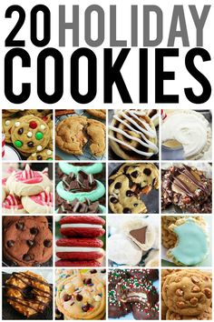 20 Must-make Holiday Cookies