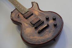 James Trussart SteelTop Antique Copper Dragon #08143 #JamesTrussart