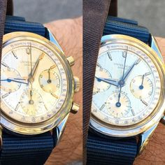 Universal Geneve Compax. The way this watch catches light is just magic.