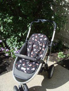 skull baby stroller