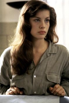 Liv Tyler hair inspiration..no time for a flat iron very often. Make my wavy hair work FOR me not against me!