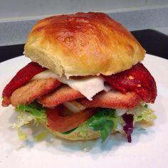 homECooking — Domingo #burger de Lomo de Cerdo Adobado y...