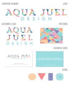 Logo design in facets!