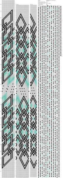 Ромбозацепон 0,25 - 0,35 ToskaTusk (19) http://crochetbeadpaint.info/raports/1881191