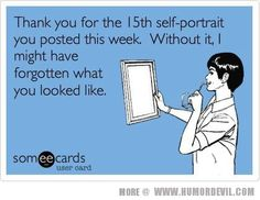 Ahem. :-) reminds me of a few people... if only I could remember what they looked like...