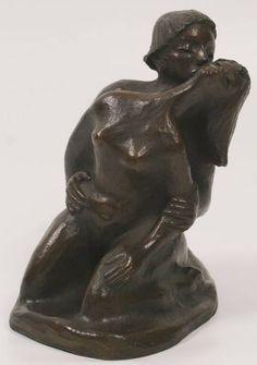 Ernst Barlach (1870-1938) - Kiss