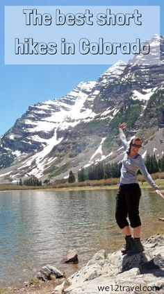 Biking and hiking to Maroon Bells in Aspen, Colorado. A great challenge for outdoor lovers and adventurists who are visiting Colorado. Road Trip To Colorado, Visit Colorado, Aspen Colorado, Colorado Hiking, Colorado Springs, Colorado Quotes, Denver Hiking, Denver Travel, Colorado Mountains
