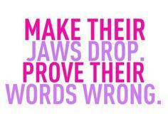 Jaws drop