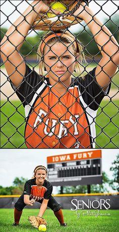 Fury: Softball senior picture ideas for outfielders. #softballseniorpictureideas #softballseniorpictures #seniorsbyphotojeania