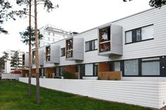 Helsingin Pasaatituuli, Residential Building, Helsinki, Finland - Lahdelma & Mahlamäki Architects