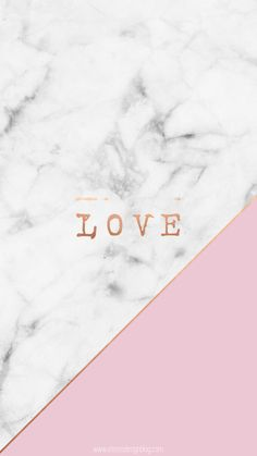 Free wallpaper download. Gold marble pink love cute motivation