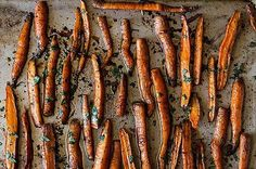 Pomegranate Roasted Carrots, a recipe on Food52