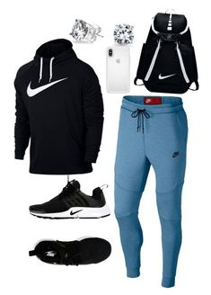 """""""court swag"""" by dominic-gill on Polyvore featuring NIKE, Bling Jewelry, Speck, men's fashion and menswear"""