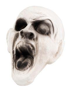 Decoración de cabeza de zombie 15x15 cm Halloween: Esta decoración de…