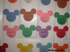 Create Your Own Walt Disney World Countdown Calendar Wdw Family