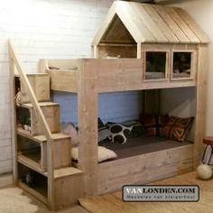 RTV NOF Diy Bedframe With Storage, Diy Storage, House Bunk Bed, Bunk Beds, Boy Room, Kids Room, Tree Bed, King Size Bed Frame, Diy Bed Frame