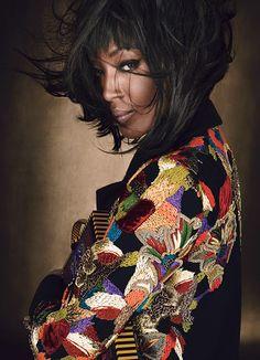 #Varinsalon #NYC #hair  LUXE BE A LADY   #NaomiCampbell    #EmmaSummerton #photography   W Magazine