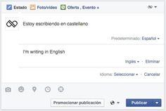 Cómo Publicar Actualizaciones de Facebook en Varios Idiomas