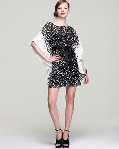 Trina Turk Caftan Dress - Rythme Sonial Square Print