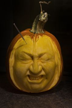 Migraine by Deane A., of Reynoldsburg, OH for our 2013 Pumpkin Carving Contest | thisoldhouse.com