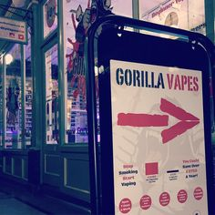 Open from 9am tomorrow! by gorillavapesbw