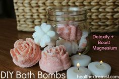 DIY Bath Bomb Recipe- Drop One in Your Bath to Relax and Detoxify