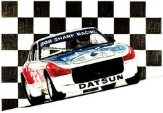Bob Sharp Racing raced early Datsun Z-cars like the one I owned.
