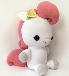 Plushie Sewing Pattern PDF Cute Soft Plush Toy  Hana by TeacupLion, $12.00