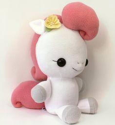 Plushie Sewing Pattern PDF Cute Soft Plush Toy  Hana by TeacupLion, $12.00