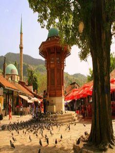 #Başçarşı , #Saraybosna Sanat ile Yaşam: BAŞÇARŞI , SARAYBOSNA