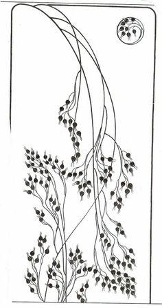 art nouveau designs and lines - Google Search